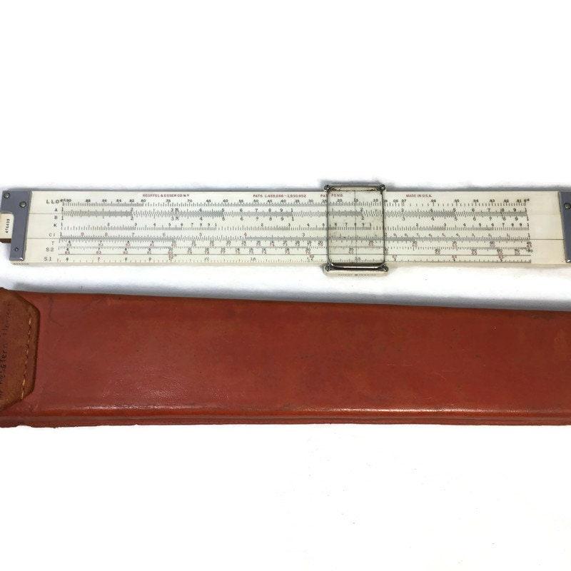 Keuffel and Esser 1936 Model 4091-3 Slide Rule