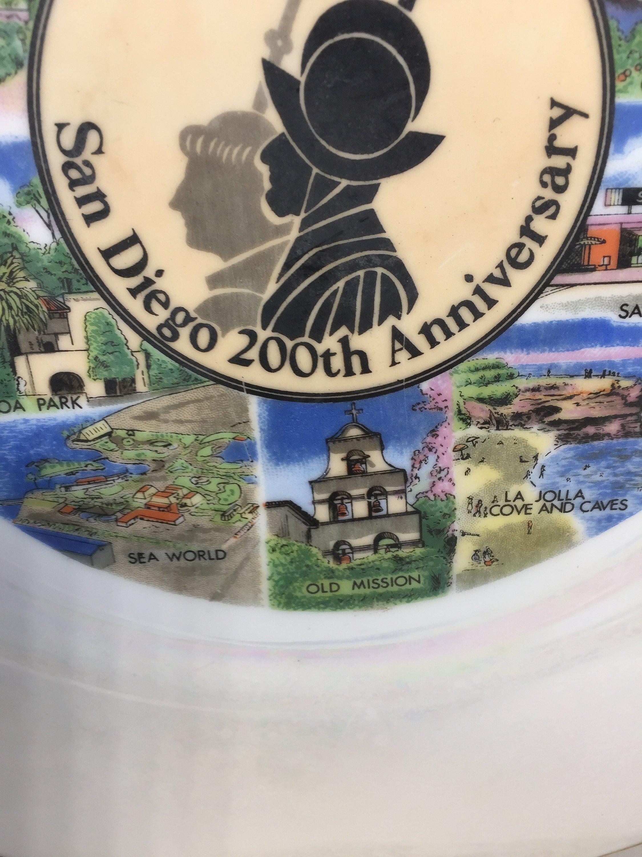 Image 5 of Vintage San Diego Souvenir Plate