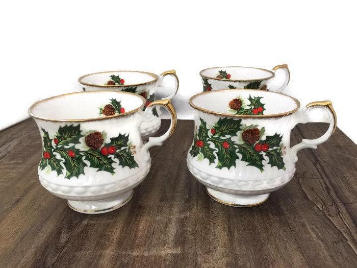 Vintage Christmas Cups