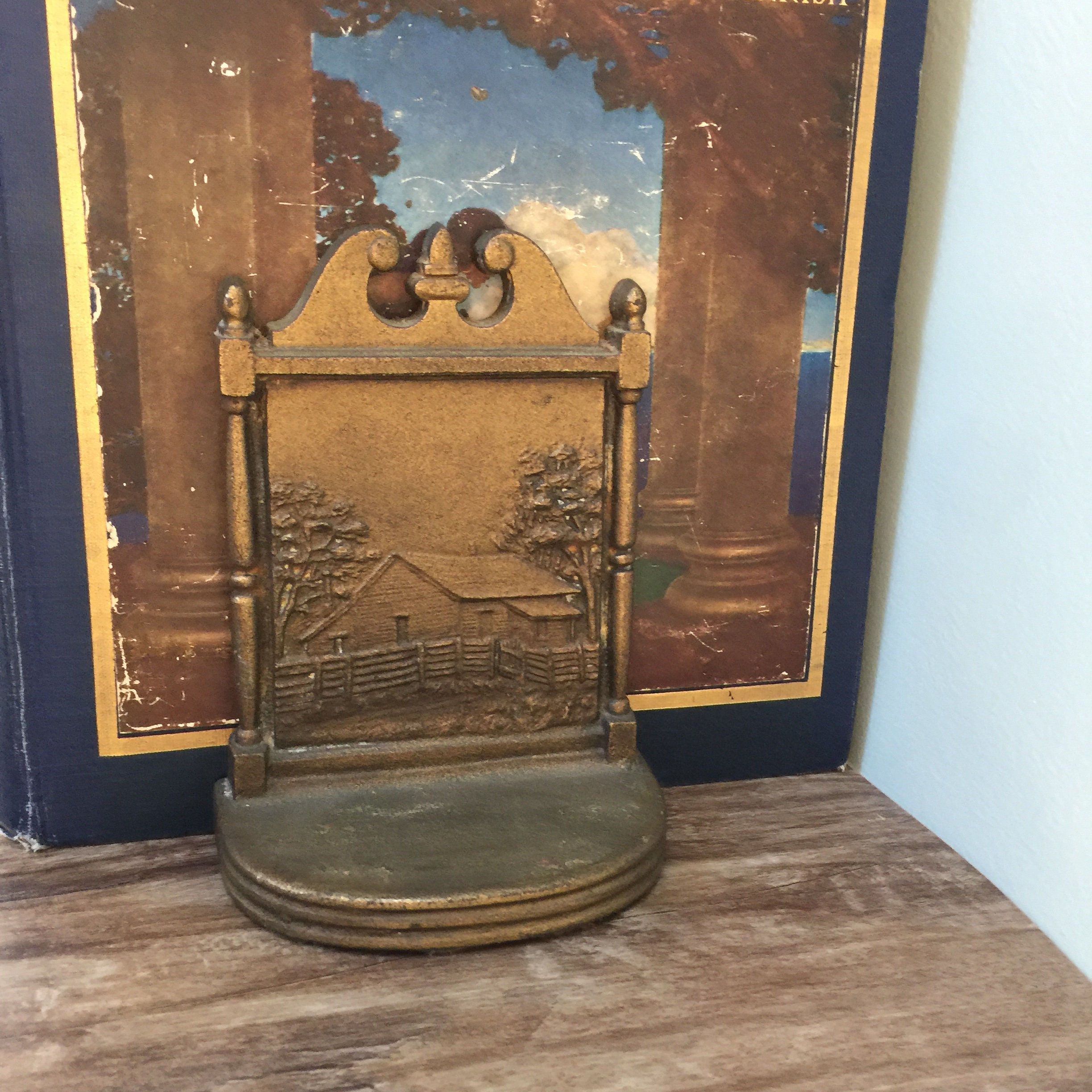 Image 0 of Antique Bradley and Hubbard Bookends