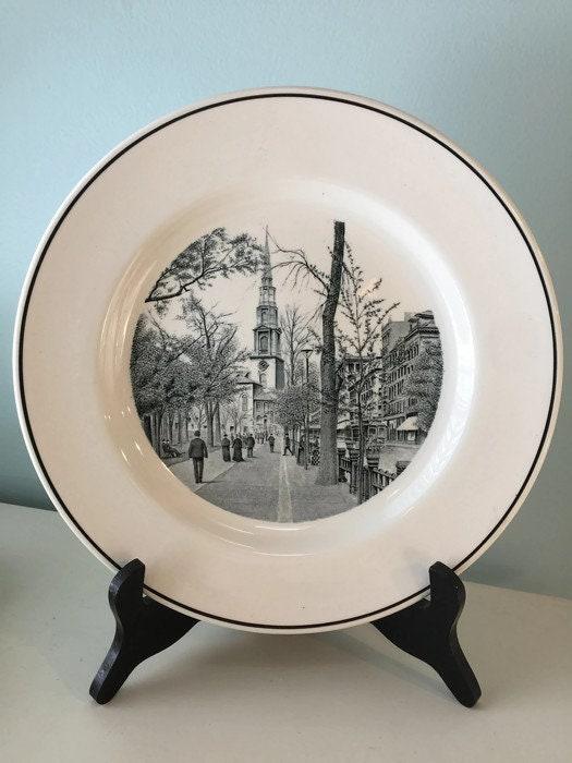 Image 9 of Vintage Copeland Spode Boston Plate