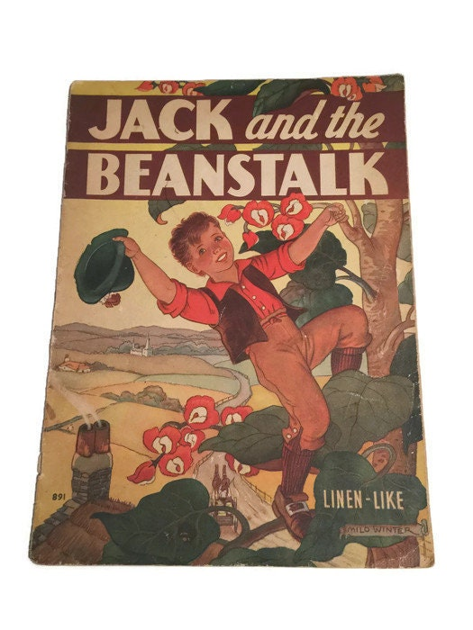 Jack and the Beanstalk Children's Book -