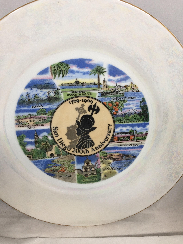 Image 2 of Vintage San Diego Souvenir Plate