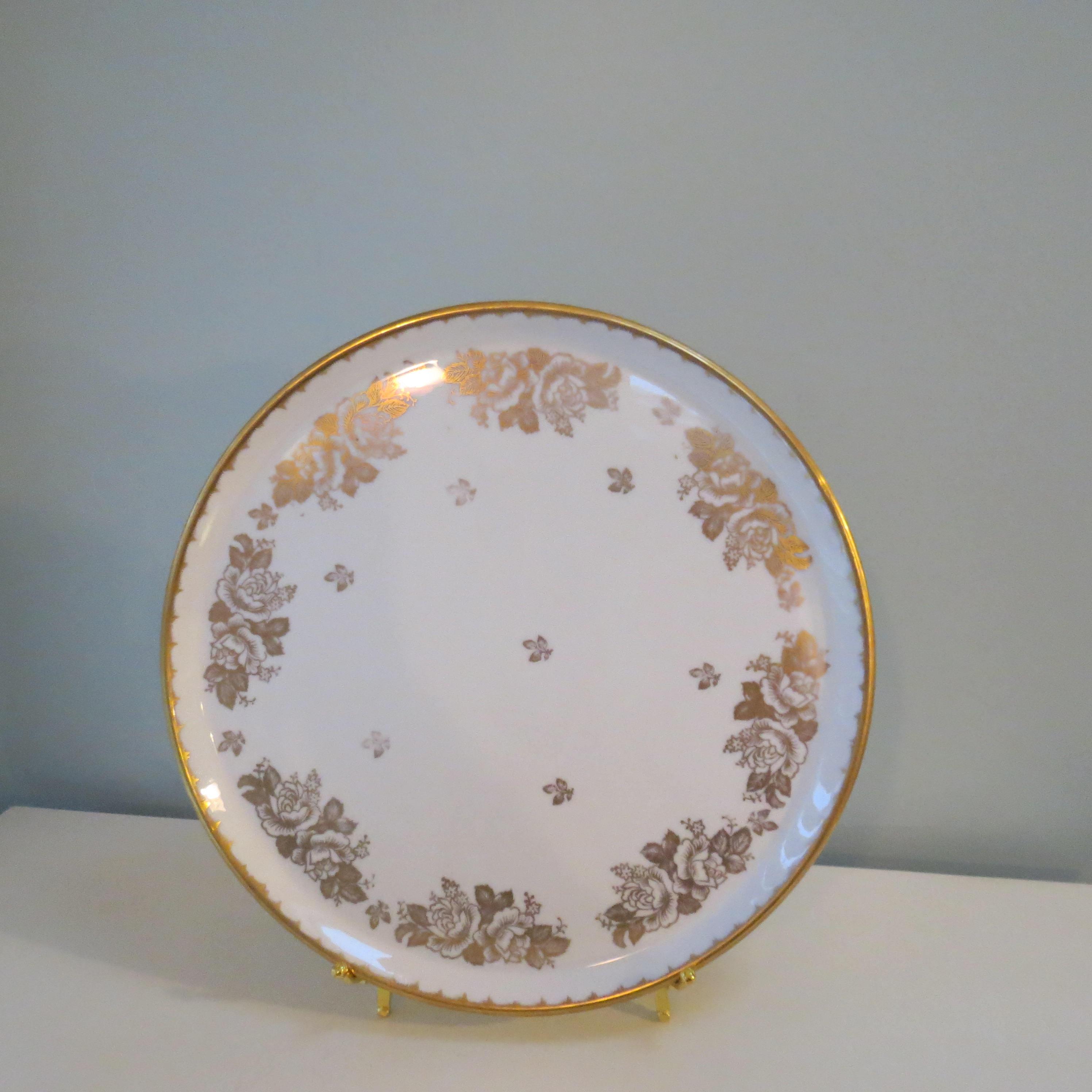 Image 1 of Antique Revol Porcelain China Plate