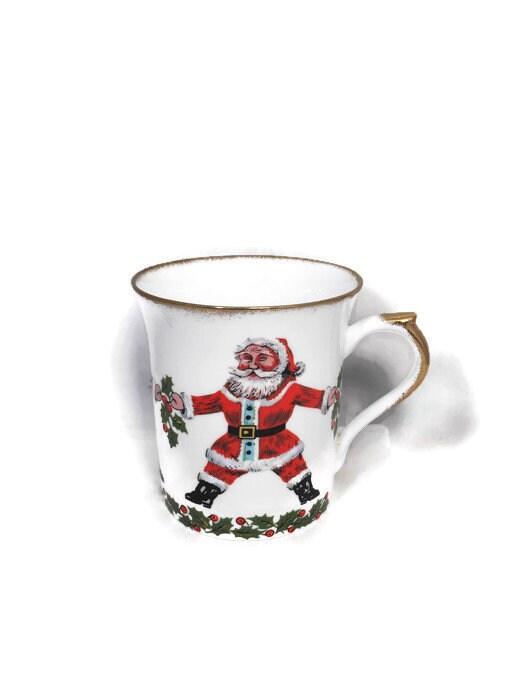 Vintage Christmas China Mug