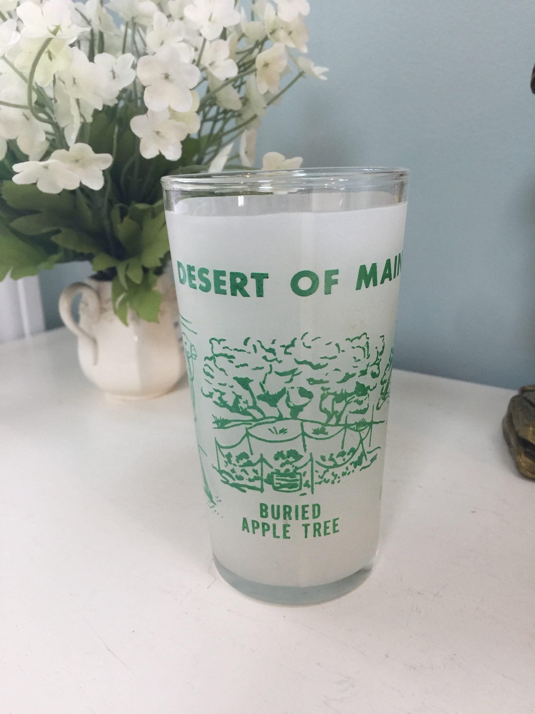 Image 0 of Vintage Desert of Maine Souvenir Glass