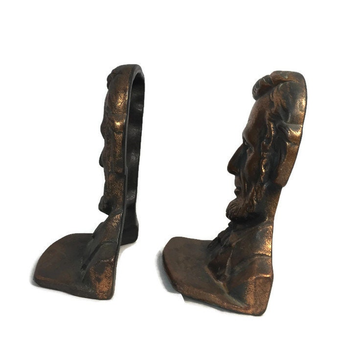 Image 4 of Antique Abe Lincoln Bookends