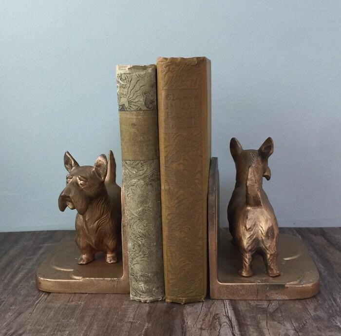 Image 6 of Vintage Scottie dog Bookends