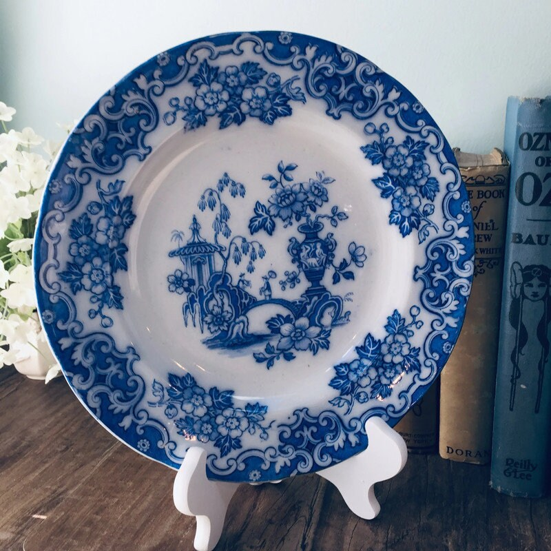 Antique Blue and White Ironstone