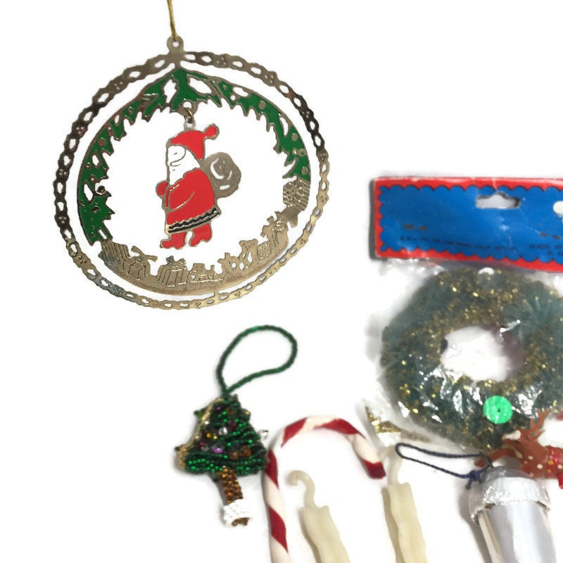 Image 0 of Vintage Christmas Ornaments