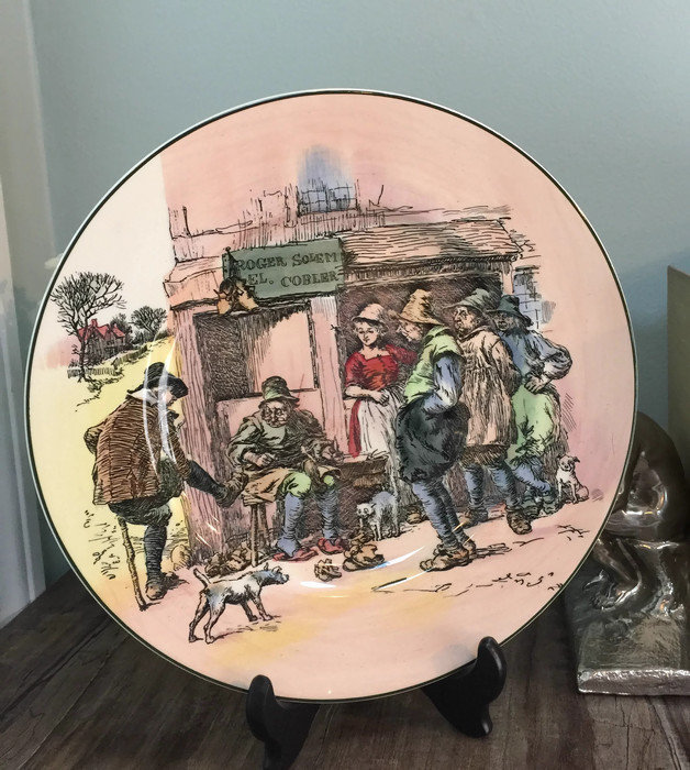 Image 9 of Vintage Royal Doulton Series Ware Plate
