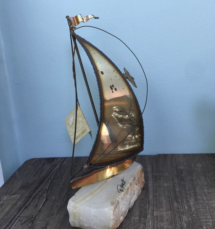 Image 7 of Mid Century Sailboat