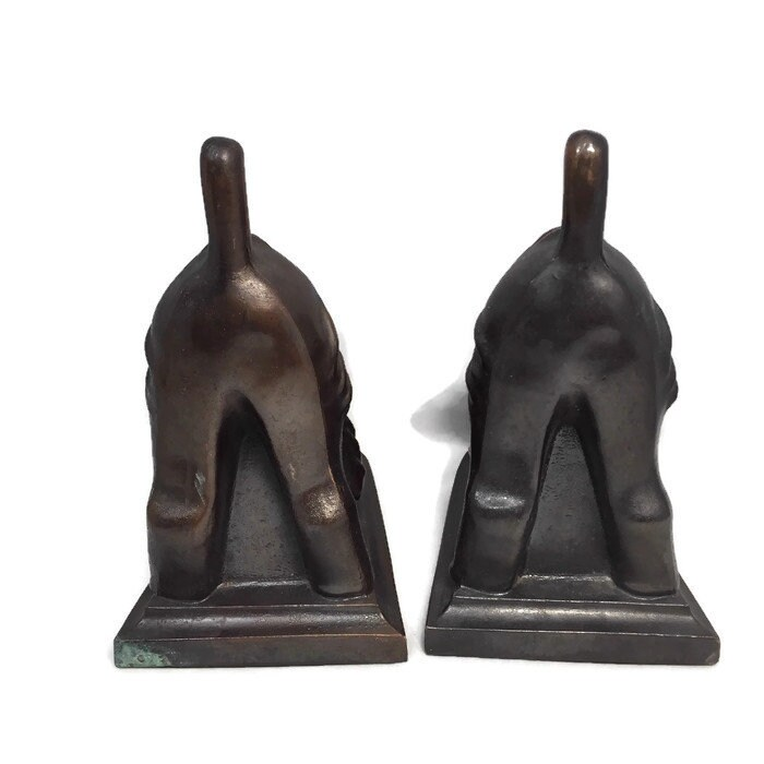 Image 3 of Vintage Dog Bookends