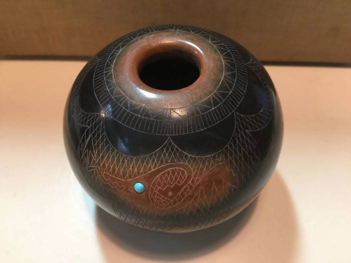 Image 8 of Vintage Native American Pottery