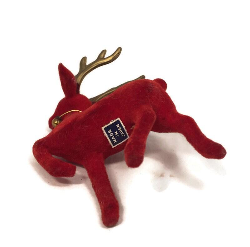 Image 5 of Vintage Christmas Reindeer
