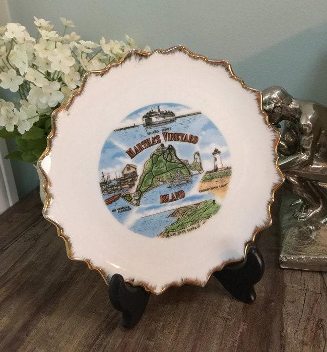 Mid Century Martha's Vineyard Plate