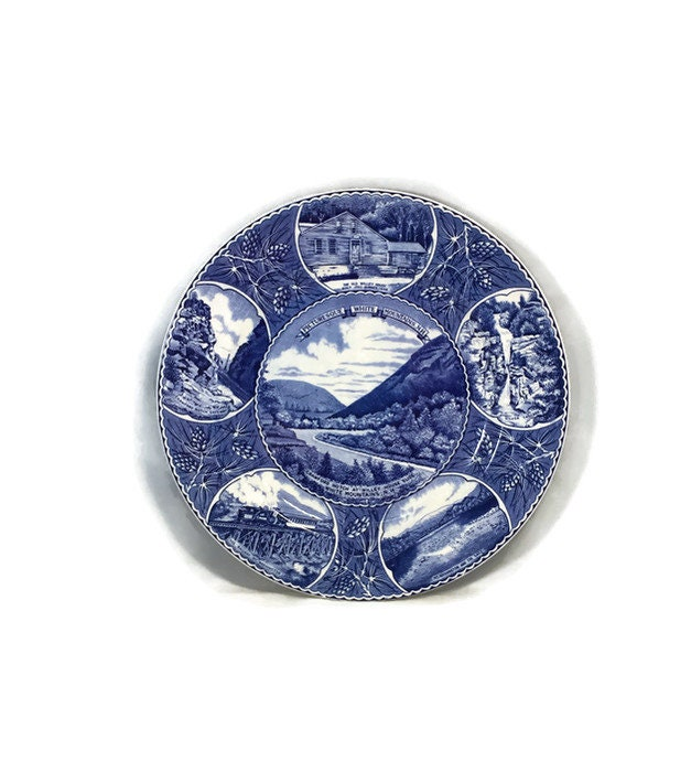 New Hampshire Souvenir Plate
