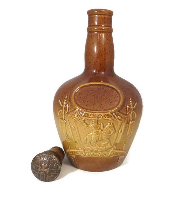 Image 6 of Vintage Chivas Royal Doulton Ceramic Decanter