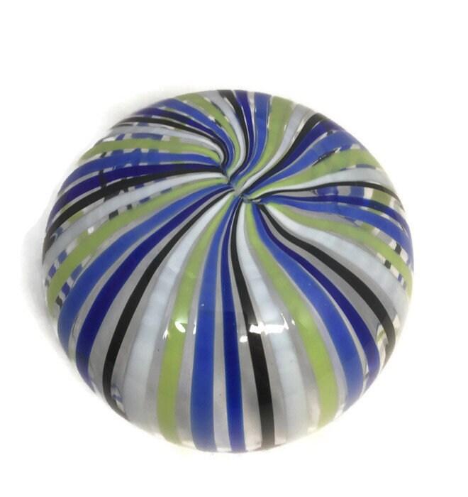 Image 3 of Mid century Murano Glass bowl by Venini