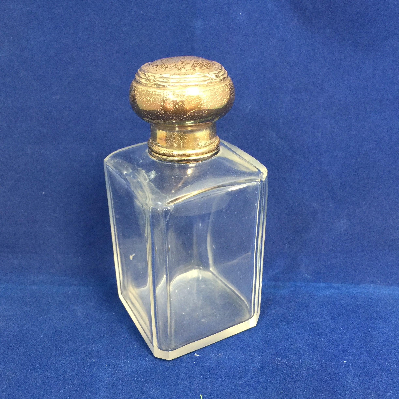 Antique Louvre Paris Perfume Bottle