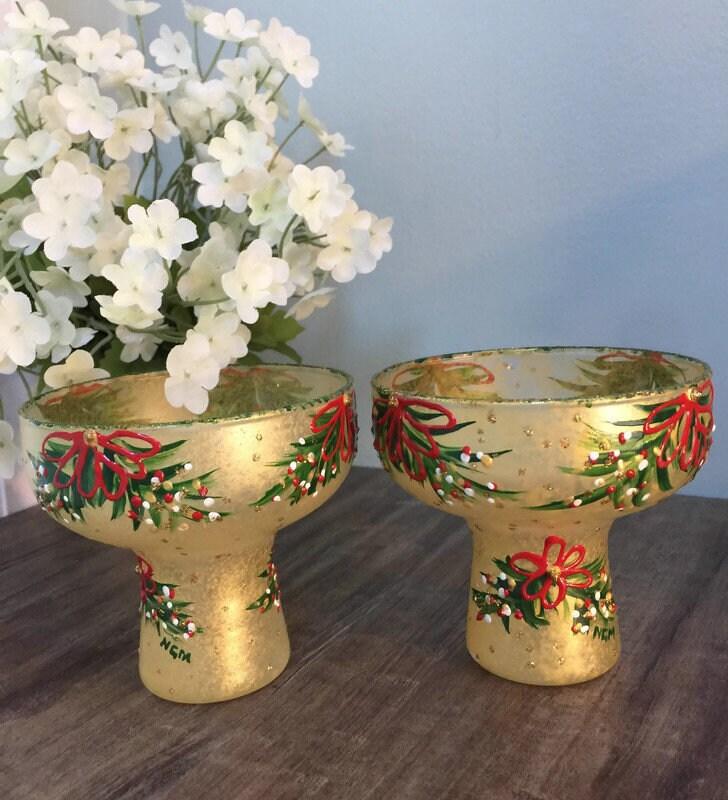Vintage Christmas Candleholders