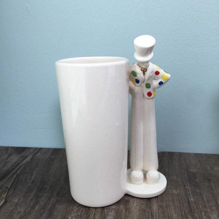 Image 6 of Vintage Circus Clown Vase
