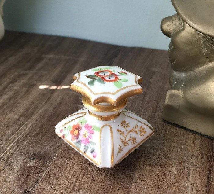 Antique Porcelain Perfume Bottle