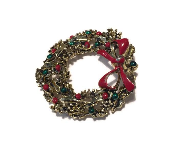 Image 4 of Christmas Wreath Pin