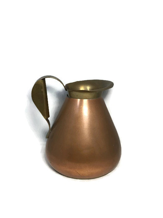 Vintage Copper Arts and Crafts Pitcher