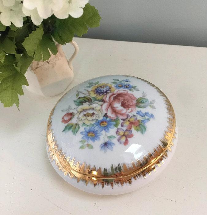 Vintage Limoges Dresser Jar