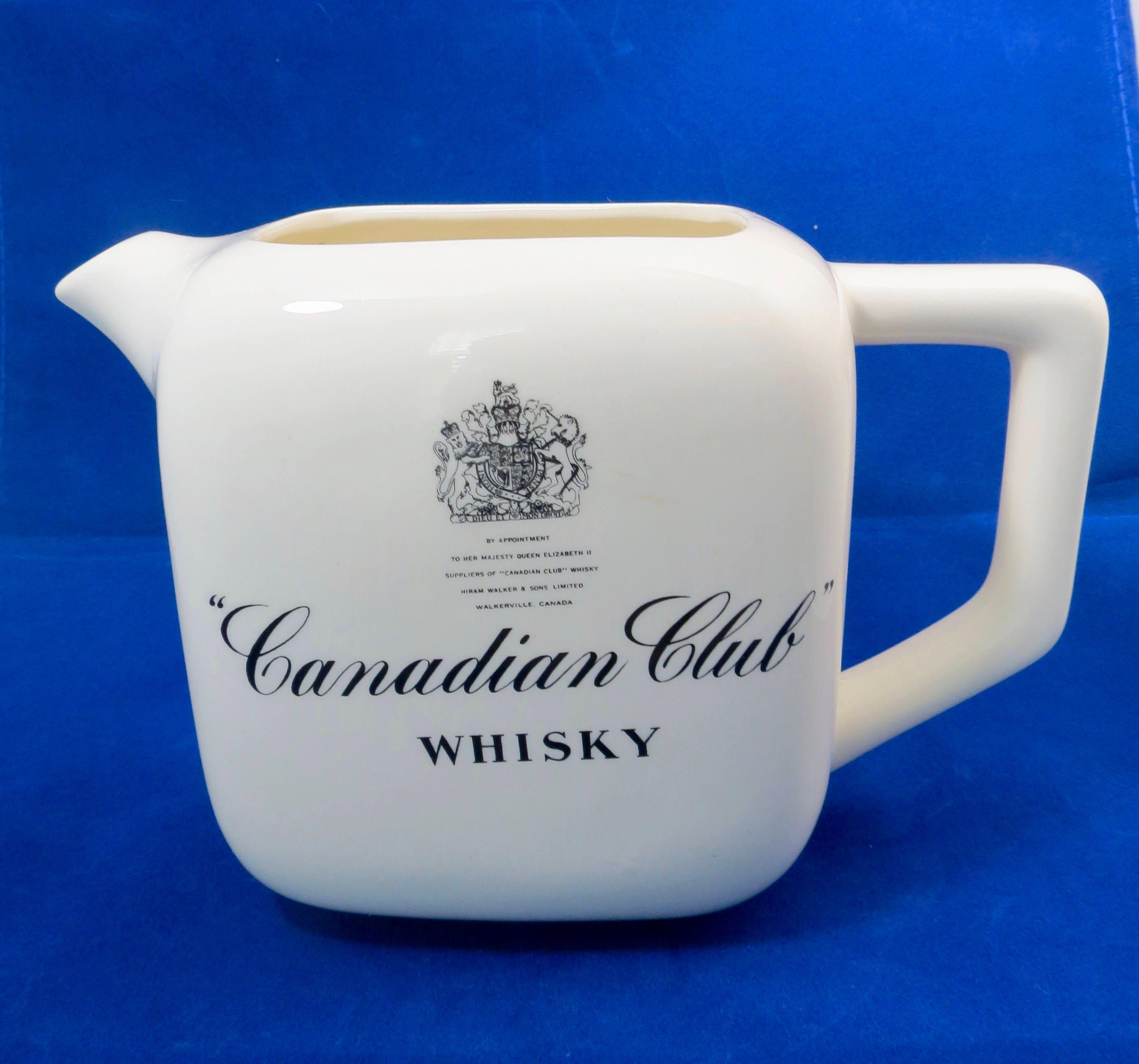 Vintage Canadian Club Whisky Pub Jug