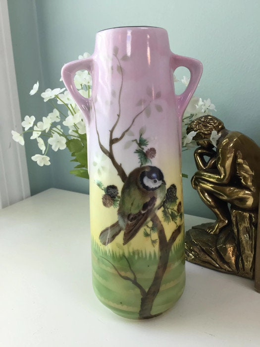 Image 1 of Vintage German Porcelain Vase