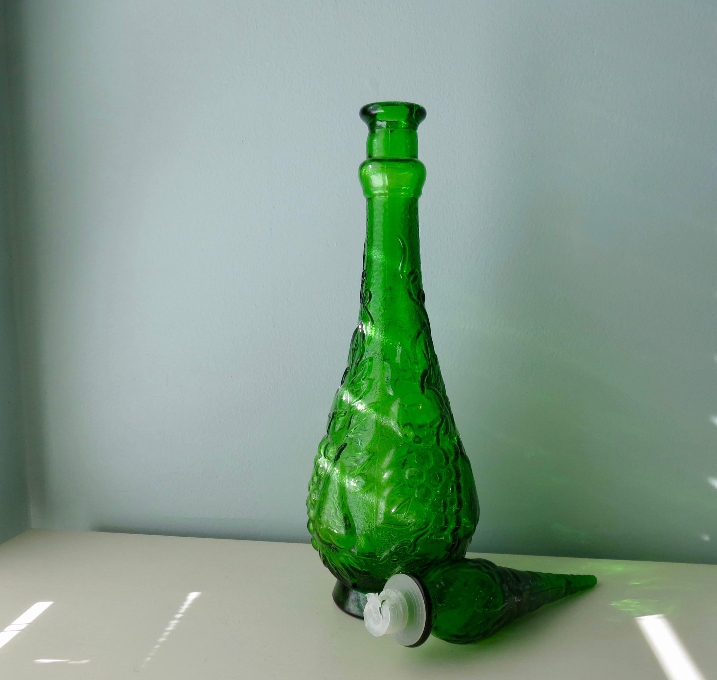Image 3 of Mid Century Empoli Glass Bottle