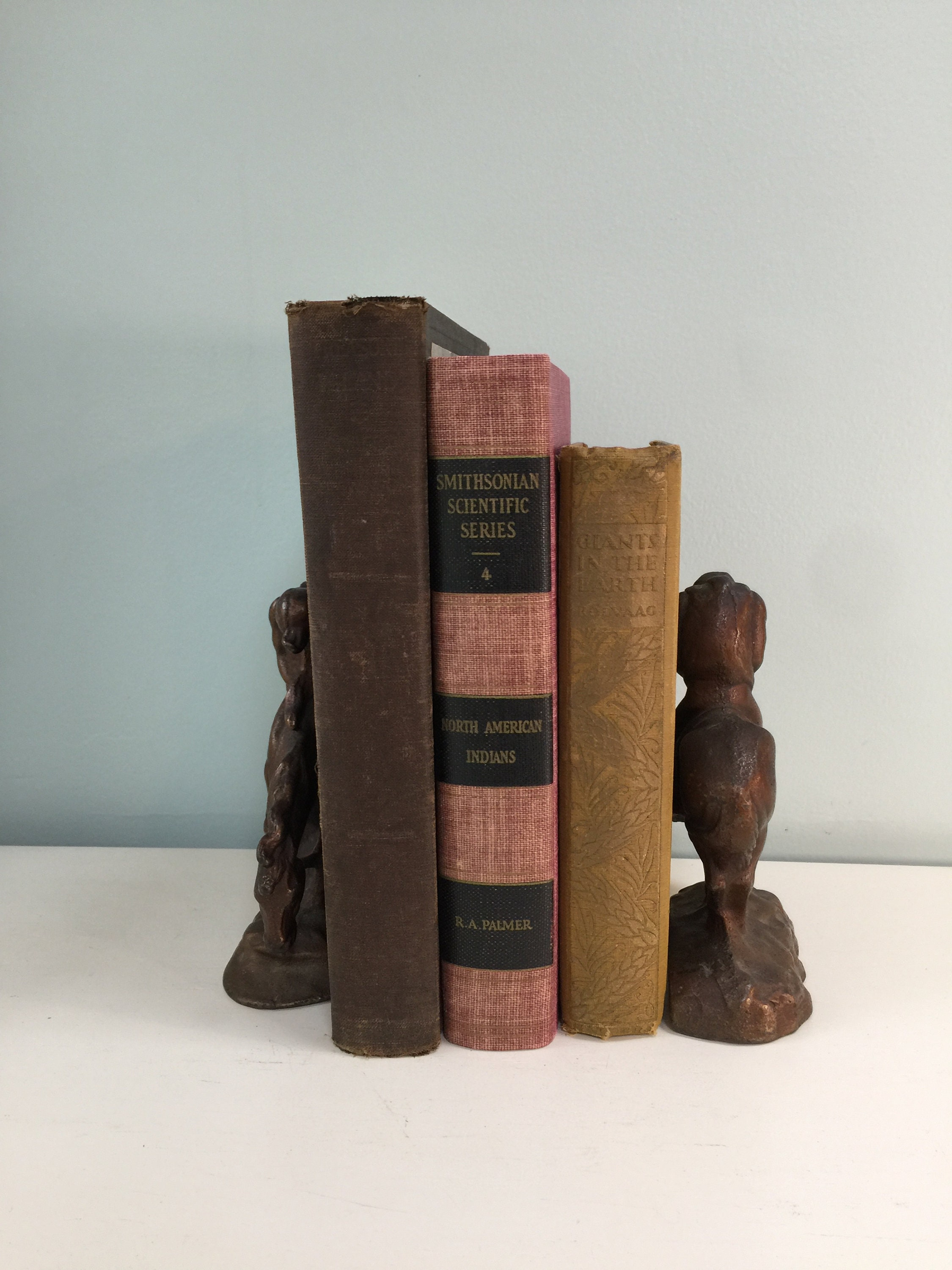 Image 5 of Vintage End of The Trail Bookends