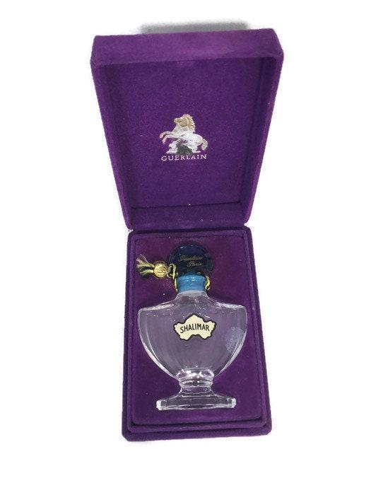 Vintage Shalimar Perfume Bottle