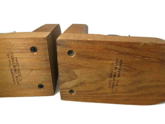 Image 3 of Vintage Duck Bookends