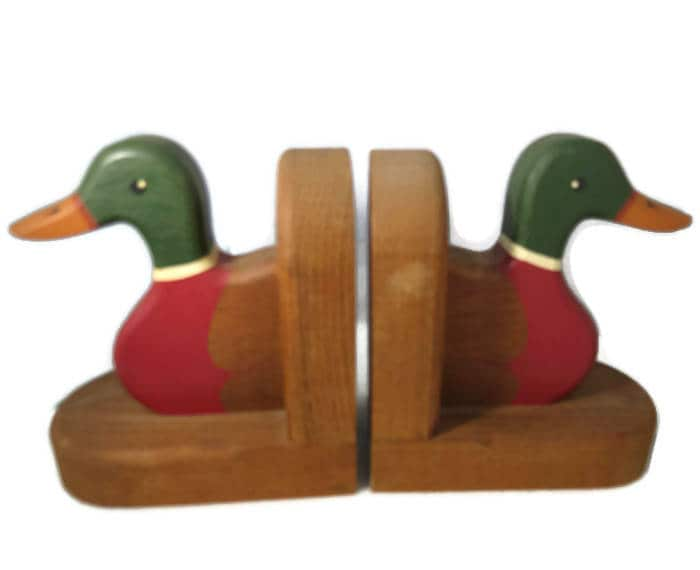 Image 0 of Vintage Duck Bookends