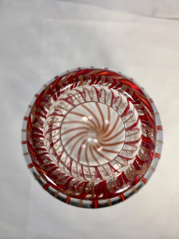 Image 3 of Mid century Murano Glass Vase by Venini