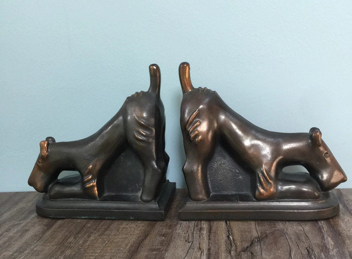Image 5 of Vintage Dog Bookends