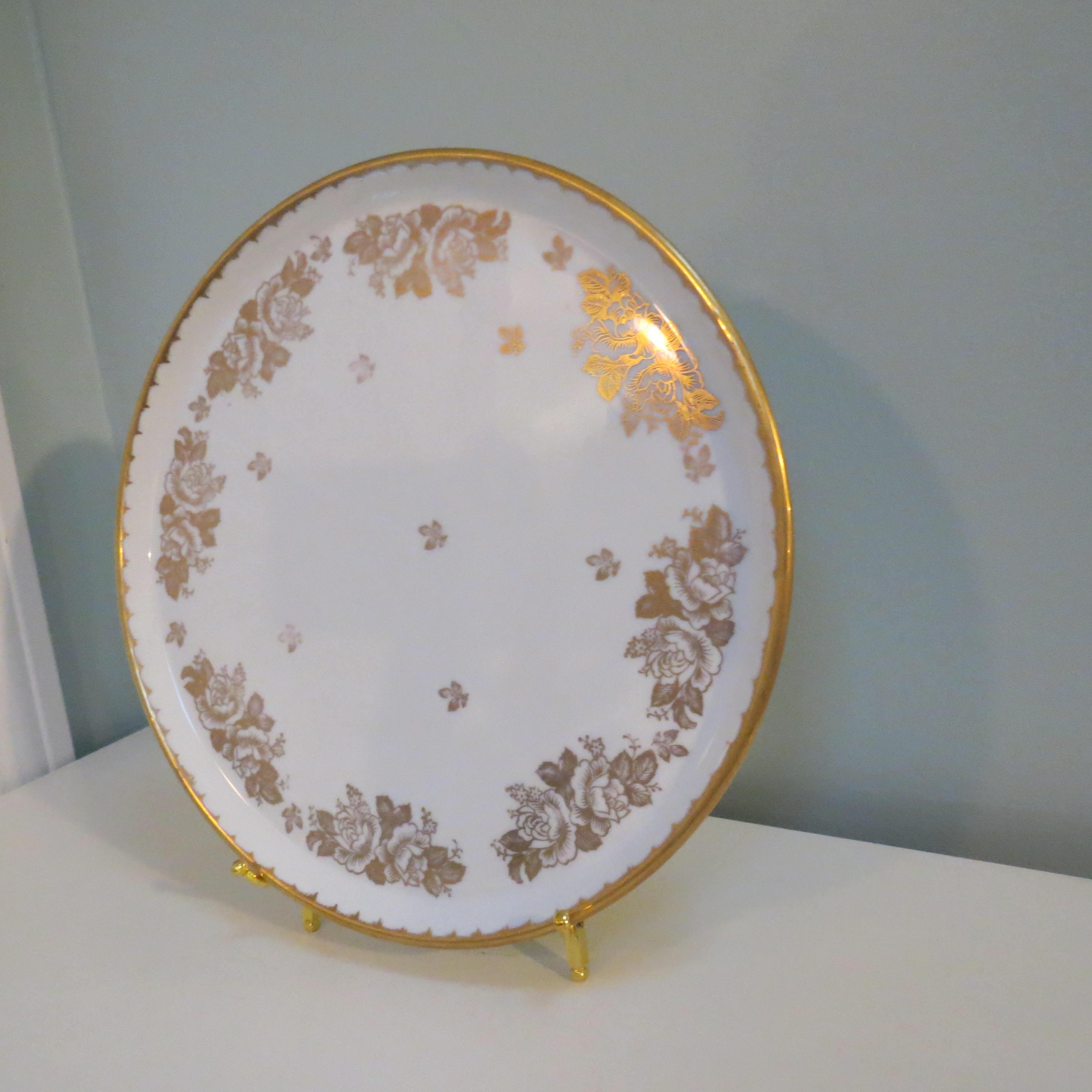 Image 2 of Antique Revol Porcelain China Plate