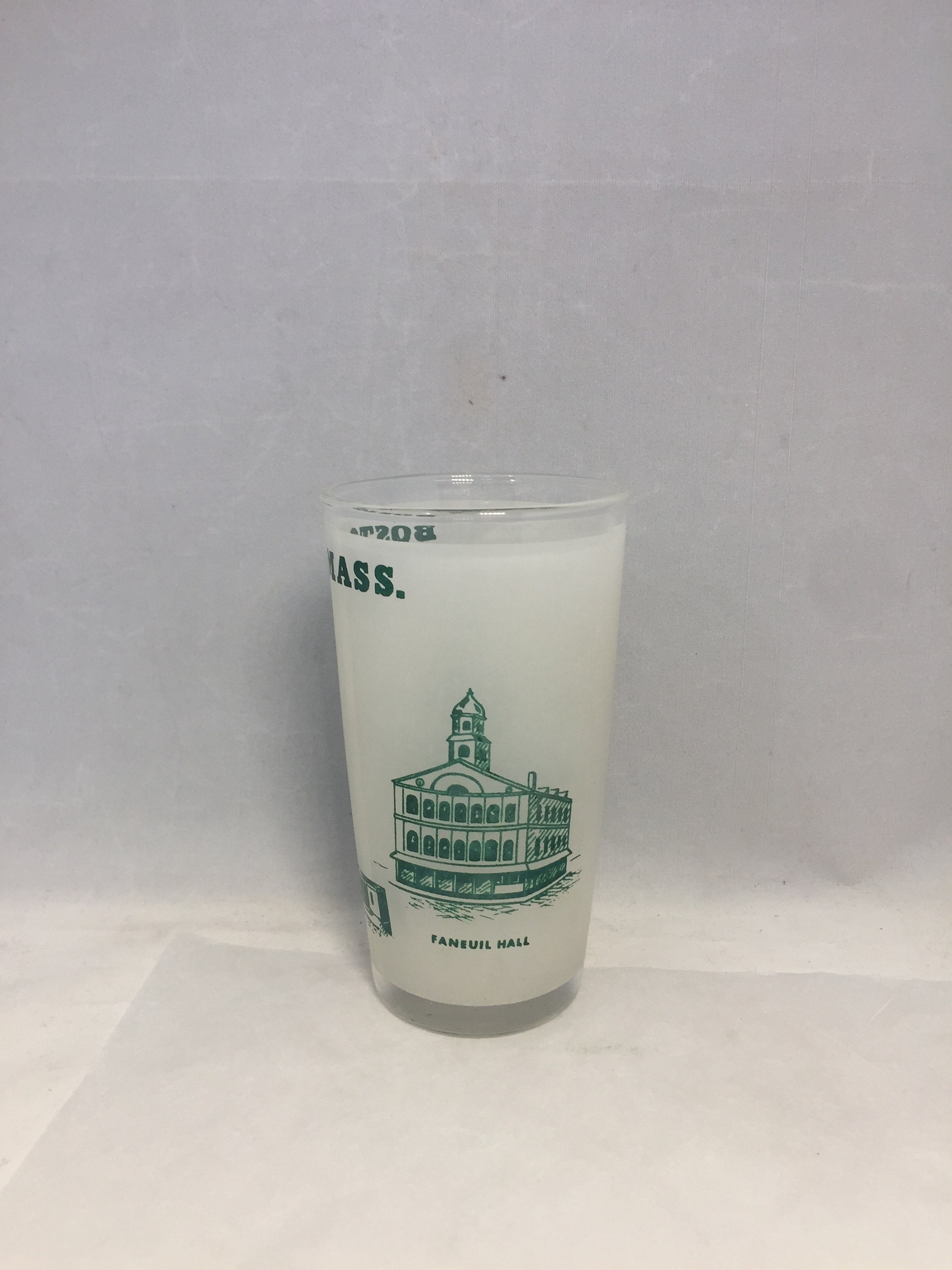 Image 2 of Vintage Boston Massachusetts Souvenir Glass
