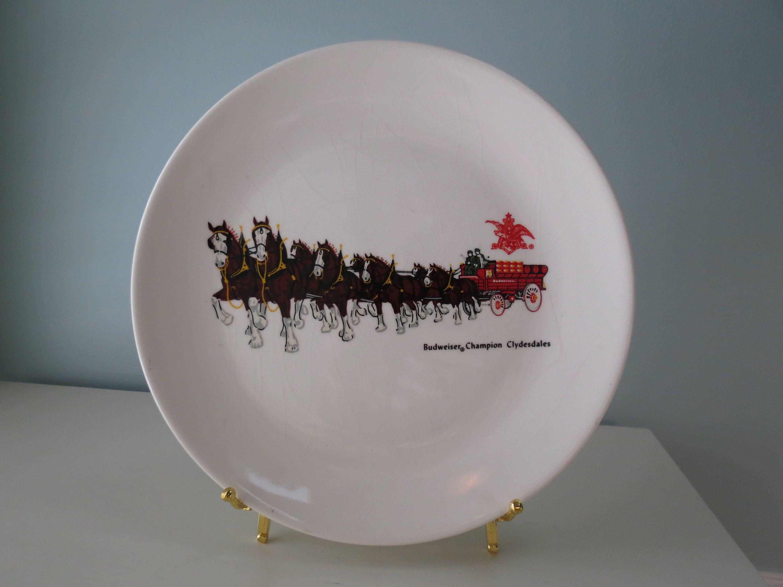 Vintage Budweiser Plate