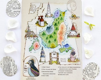 The Isle of St Francis - Postcard Set