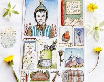 The Keeper's Journey - Postcard Set