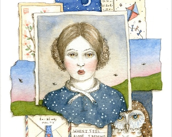Freya - print of original illustration