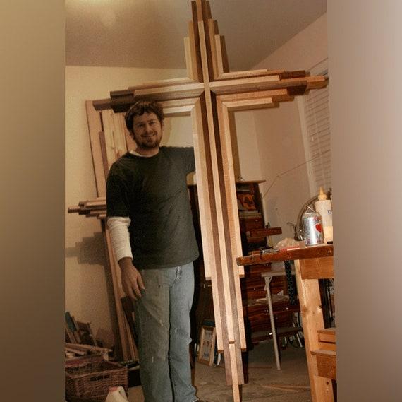 Eight Foot Tall Diy Wooden Cross Plans
