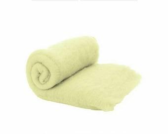 Wool Merino Batt for Hand Spinning Fibers