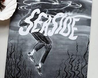 Seaside, ghost story comic by Johanna Öst