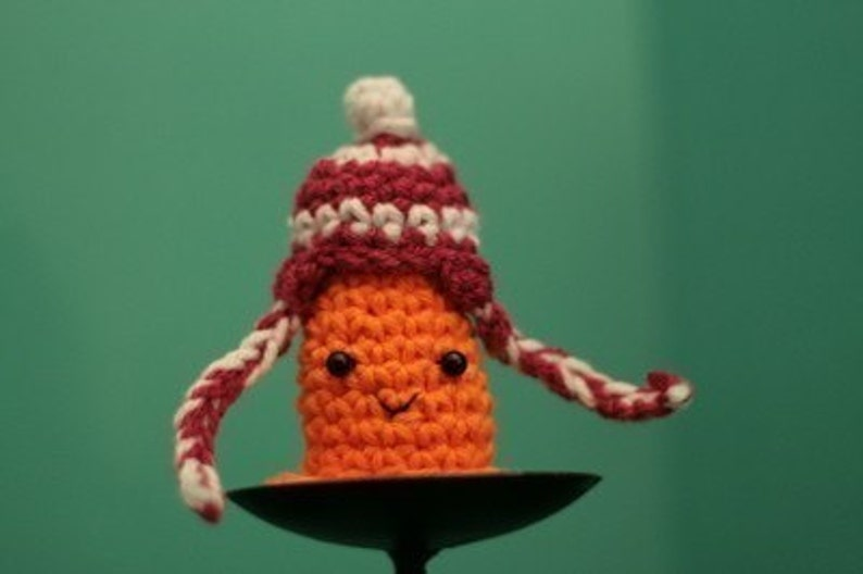 Snow-Proof Safety Cone Likes Ear Flap Hats image 0