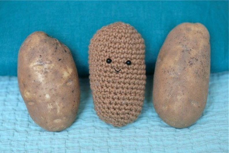 This Spud is for you  crochet potato image 0